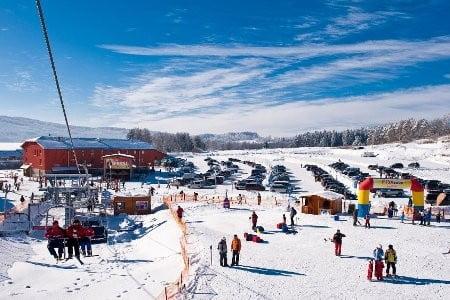 Катание на лыжах в Липно